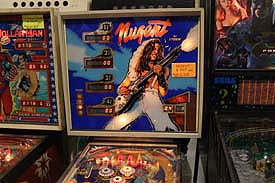 Ted Nugent Pinball