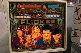 Flicker Laurel and Hardy Pinball
