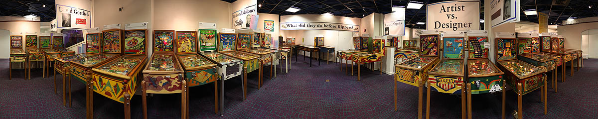 National Pinball Museum Main Gallery