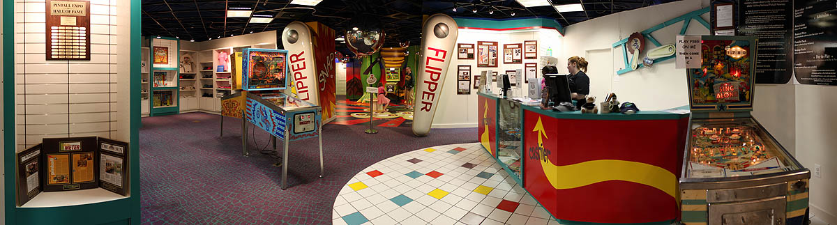 National Pinball Museum Entrance Flippers - Sing Along Pinball