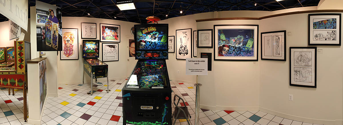 The Art of Stan Fukuoka - Big Bang Bar Pinball