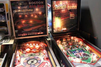 Boston Redsox Pinball