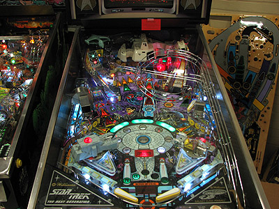 Star Trek TNG Pinball LED